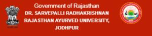 Dr-Sarvepalli Radhakrishnan Rajasthan Ayurved University-RAU Jodhpur-346x83